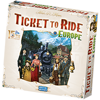 Ticket to Ride Europe 15<sup>th</sup> Anniversary