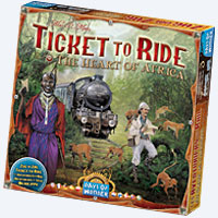 Ticket to Ride – The Heart of Africa