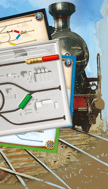 Les Aventuriers du Rail– Le Défi des Locos