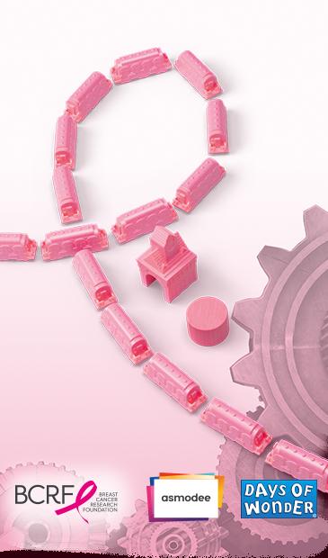 Les Aventuriers du Rail– Play Pink