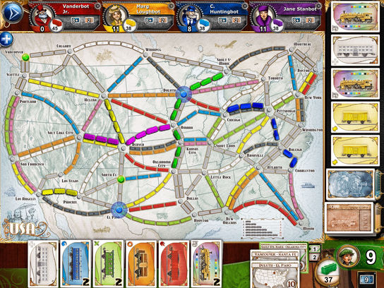 Ticket To Ride Asia Map.Ticket To Ride Days Of Wonder