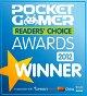 Pocket Gamer - Reader's Choice Award 2012