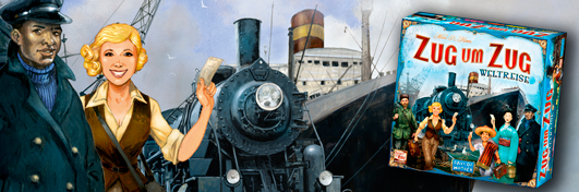 Zug um Zug Weltreise