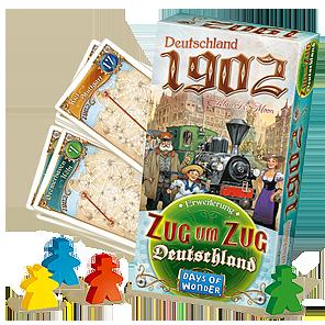 Spielschachtel von Deutschland 1902