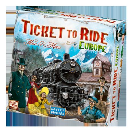 Ticket to Ride: Europe -  Days of Wonder