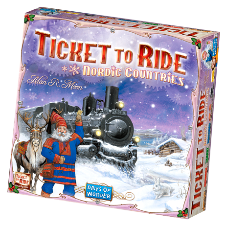 Ticket to Ride: Nordic Countries -  Days of Wonder