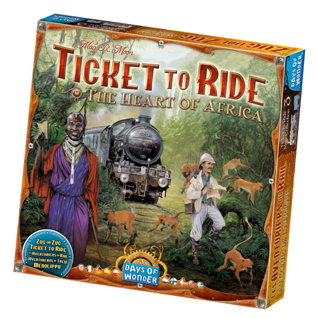 Ticket to Ride: Heart of Africa Map Collection Vol 3 -  Days of Wonder