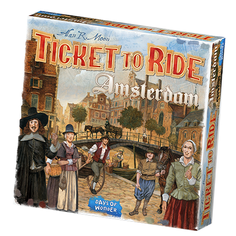 Ticket To Ride: Amsterdam -  Days of Wonder