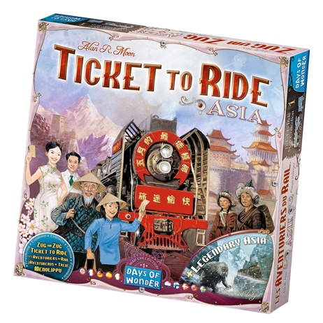 Ticket To Ride Asia: Map Collection -  Days of Wonder