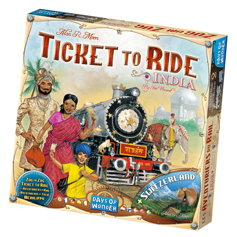 Ticket To Ride India: Map Collection -  Days of Wonder