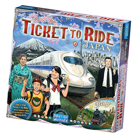 Ticket to Ride Japan and Italy: Map Collection Volume 7 - Days of Wonder