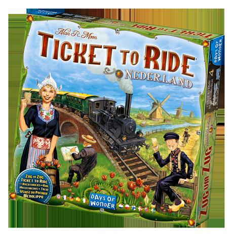 Ticket To Ride Nederlands: Map Collection -  Days of Wonder