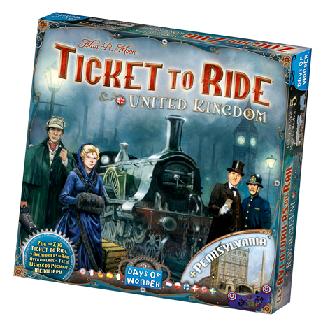Ticket To Ride: United Kingdom Expansion -  Days of Wonder