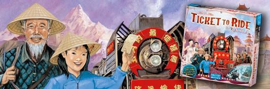 Aventuriers du Rail Asie