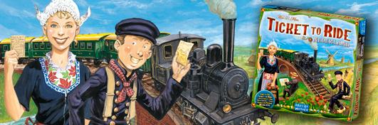 Aventuriers du Rail Pays-Bas