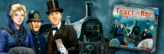 Aventuriers du Rail Royaume-Uni