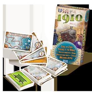 La boîte de USA 1910